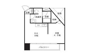 1DK Mansion in Suwa - Kawasaki-shi Takatsu-ku
