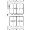 1K Apartment to Rent in Neyagawa-shi Layout Drawing