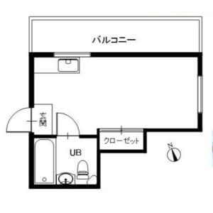 1R {building type} in Koenjiminami - Suginami-ku Floorplan