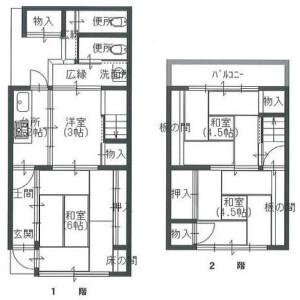京都市東山区東川原町-4K{building type} 楼层布局