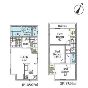 3LDK {building type} in Doshida - Nerima-ku Floorplan
