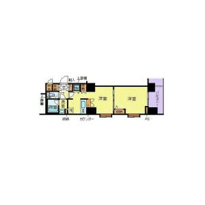 1DK Mansion in Shiba(1-3-chome) - Minato-ku Floorplan