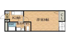 1K Apartment in Benten - Osaka-shi Minato-ku