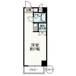 1R Mansion in Hakusan(2-5-chome) - Bunkyo-ku Floorplan