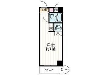 在文京區內租賃1R 公寓大廈 的房產 房間格局