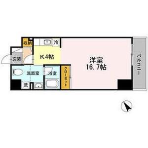 1R Mansion in Kanagawa - Yokohama-shi Kanagawa-ku Floorplan