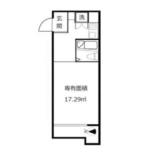 1R {building type} in Igusa - Suginami-ku Floorplan