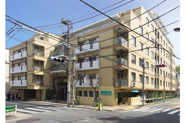 在港區內租賃2DK 公寓大廈 的房產 戶外