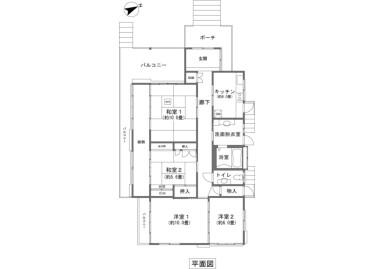 4K House to Buy in Ashigarashimo-gun Hakone-machi Floorplan