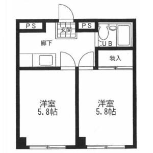2K Mansion in Nerima - Nerima-ku Floorplan