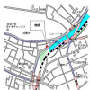 1DK Apartment to Rent in Shinjuku-ku Map