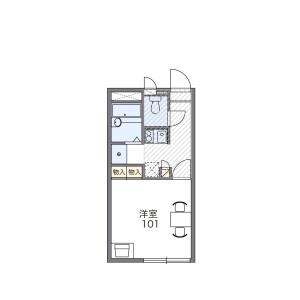 1K Apartment in Sakuramori - Yamato-shi Floorplan