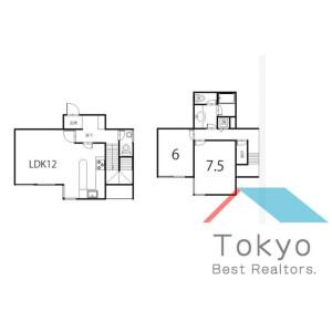 2LDK Mansion in Koenjiminami - Suginami-ku Floorplan