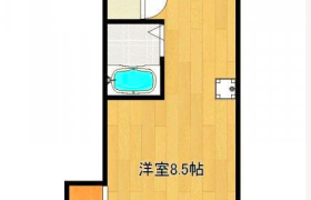 1R Apartment in Kamiya - Kita-ku