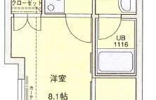 福岡市中央区 大手門 1K {building type}