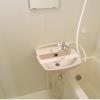 1K Apartment to Rent in Minato-ku Washroom