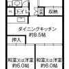 在岐阜市内租赁3DK 公寓大厦 的 楼层布局
