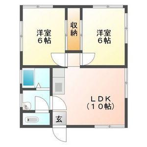 2LDK House in Takasucho owashi - Gujo-shi Floorplan