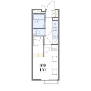 1K Mansion in Futatsubashicho - Yokohama-shi Seya-ku Floorplan