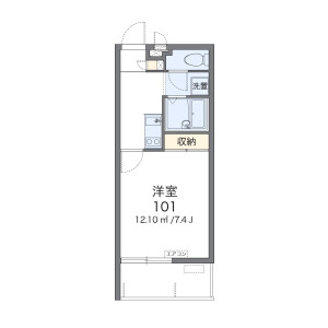 1K Mansion in Nakaima - Naha-shi Floorplan