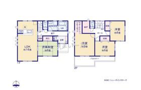 熊谷市久保島-4SLDK{building type}