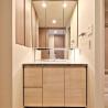 在大阪市中央區購買1LDK 公寓大廈的房產 盥洗室
