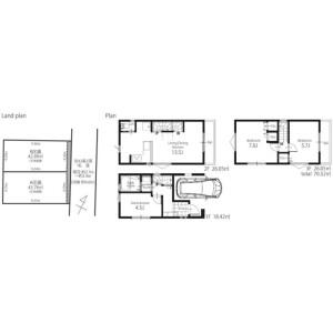 2LDK {building type} in Hommachi - Shibuya-ku Floorplan