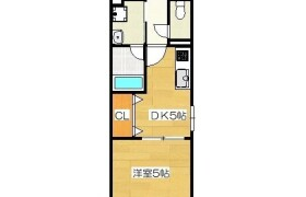 1DK {building type} in Chikkohommachi - Fukuoka-shi Hakata-ku