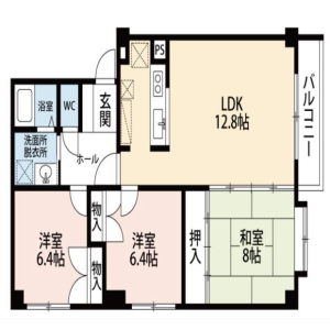 Whole Building {building type} in Tomioka - Otaru-shi Floorplan