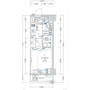 1K Mansion in Chidori - Ota-ku Floorplan