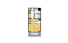 1K Apartment in Kamikawabatamachi - Fukuoka-shi Hakata-ku