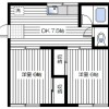 2DK Apartment to Rent in Yokosuka-shi Floorplan