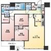 在千代田區購買2SLDK 公寓大廈的房產 房間格局