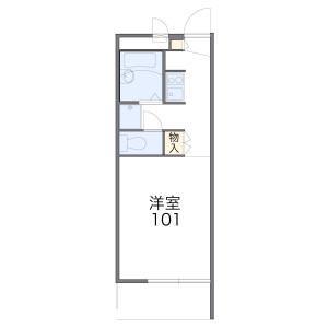 1K Mansion in Tobitakyu - Chofu-shi Floorplan