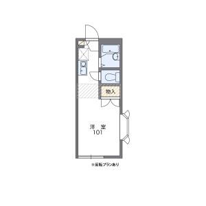 1K Apartment in Kogasu - Nagoya-shi Minato-ku Floorplan