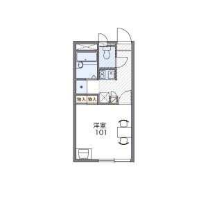 1K Apartment in Kameari - Katsushika-ku Floorplan