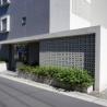 1K Apartment to Rent in Meguro-ku Building Entrance
