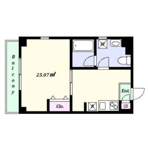 Whole Building Apartment in Nogata - Nakano-ku Floorplan