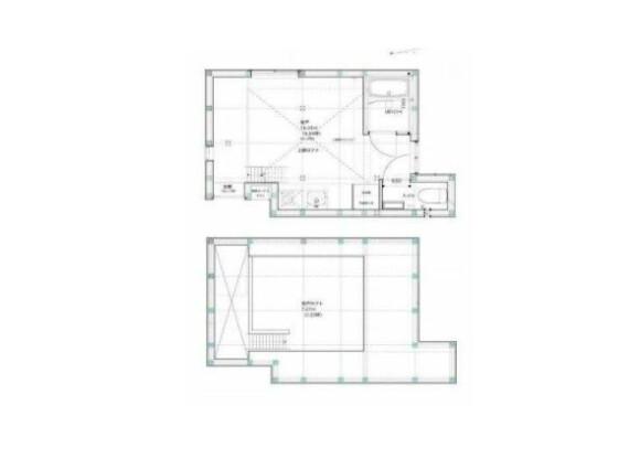 1R House to Rent in Setagaya-ku Floorplan