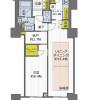 1SLDK Apartment to Buy in Kobe-shi Chuo-ku Floorplan