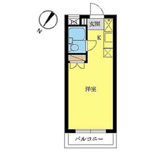 1R Mansion in Noborito - Kawasaki-shi Tama-ku Floorplan
