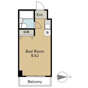 1K Apartment in Maruyamacho - Shibuya-ku Floorplan