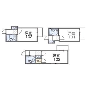 1R Mansion in Uehara - Shibuya-ku Floorplan