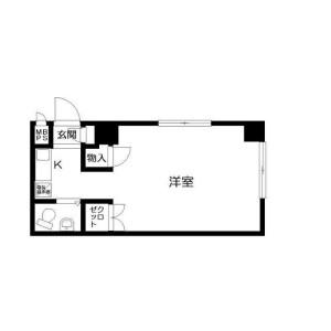 1K Mansion in Kotakecho - Nerima-ku Floorplan