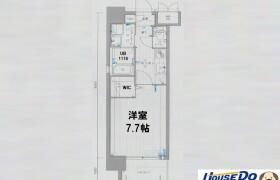 福岡市中央区 大宮 1K {building type}