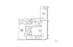 目黒区目黒-2LDK公寓
