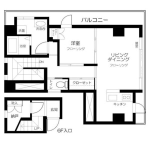 1SLDK Mansion in Yotsuya - Shinjuku-ku Floorplan