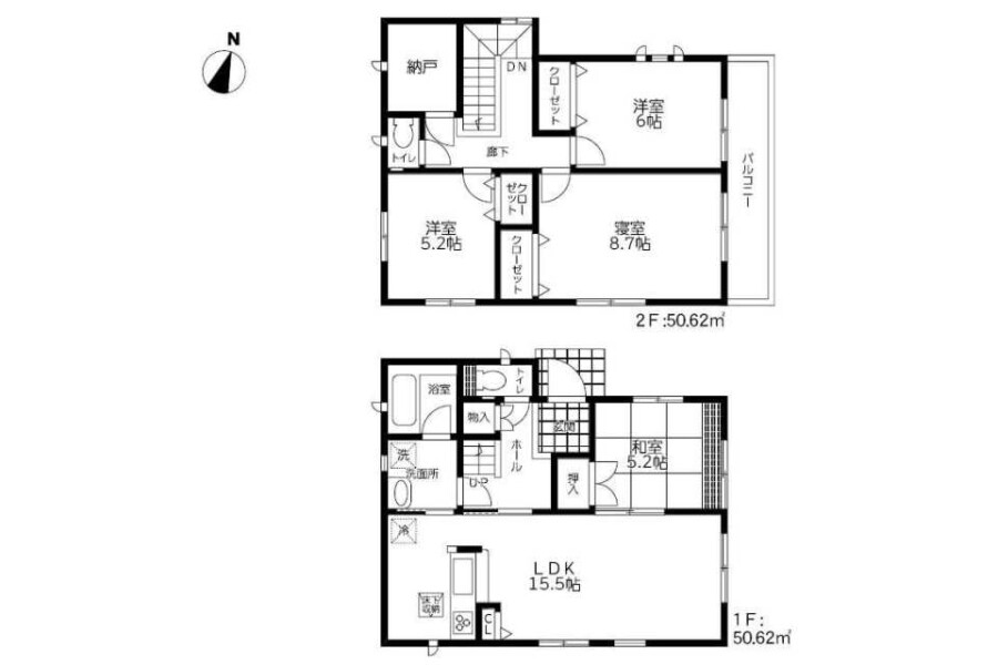 4SLDK House to Buy in Mizuma-gun Oki-machi Floorplan