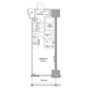 1R Mansion in Sugamo - Toshima-ku Floorplan