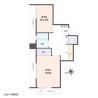 2K Apartment to Buy in Itabashi-ku Floorplan